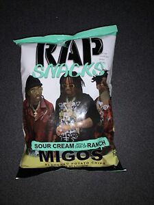Rap Snacks MIGOS Sour Cream W/ A Dab Of Ranch RARE