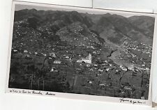 FC252 Vista do Pico de Barcelos Madeira RPPC Real Photo RP PC
