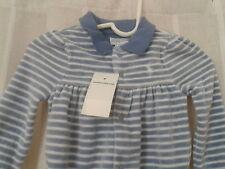 Nwt Polo Ralph Lauren Blue & White Striped Velour Footie Size 9M NWT!!!!