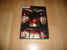 SAW 1 SURVIVAL HORROR DE KONAMI PARA PC EN CASTELLANO NUEVO PRECINTADO