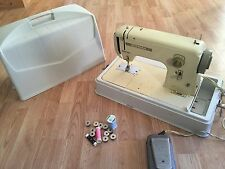 Bernina 718 Sewing Machine With Case Vintage Authentic Rare Item
