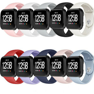 Silicone Strap Wristband Replacement Watch Band For Fitbit Versa / Versa 2 /Lite