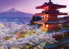 PUZZLE 2000 PIEZAS teile pieces MONTE FUJI MOUNTAIN - JAPAN - EDUCA 16775