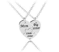 Mama kleine große Schwester Mädchen Schmuck Familie Liebe Mom Geschenk Halskette