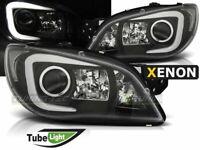 NEUF Phares Projecteur Subaru Impreza 2 II GD 2006-2007 LED Tube Noir D2S Xenon