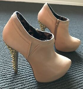 Worn Once Before Betsey Johnson Vivian Nude Women's Ankle Boot – Size 6 1/2
