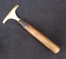 Vintage Harriid ? Brass Cobblers Leatherworkers Bookbinding Old Tool