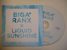 BIGA RANX : LIQUID SUNSHINE [ CD SINGLE ]