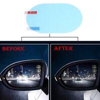 2x Oval Car Auto Anti Fog Rainproof Rear view Mirror Protective Film Accessory