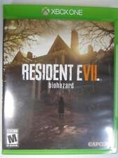 Resident Evil 7 Biohazard (Microsoft Xbox One, 2017) *Used*