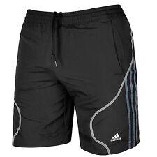 Adidas Herren Shorts Laufhose kurz Fitness Sport Hose Laufshorts Bermuda schwarz
