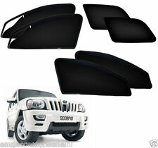 Zipper Magnetic Sun Shades Car Curtain For - Mahindra Scorpio Set of 6