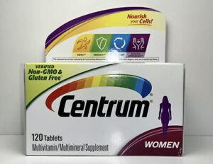 1 Centrum WOMEN Complete Multivitamin: Energy, Immunity, Metabolism 120 Ct 2022