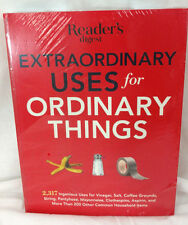 Readers Digest Book How To Instruction Extraordinary Uses for Ordinary Things