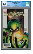Captain Marvel #v4 #16 (2004) Key 1st Phyla-Vell CGC 9.8 White Pages FF165