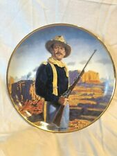 John Wayne Hero of the West Collectors Plate By Franklin Mint