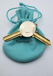 Tiffany&Co House Key Holder Pendant in 14K Yellow Gold