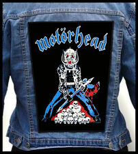 MOTORHEAD - Axeman  --- Giant Backpatch Back Patch
