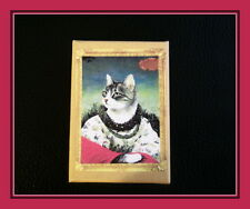Noble Cat - European Shorthair Domino Pendant With Matching Box