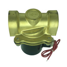 Electric Solenoid Valve AC 220V 1-Inch Water Air Gas Valve