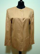 OLIVER by VALENTINO Giacca Donna Lino Seta Flax Silk Woman Jacket Sz.S - 42
