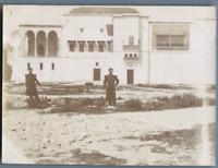 Tunisie, Le Bardo (باردو). L'Ancien Palais des Beys de Tunis  Vintage citra