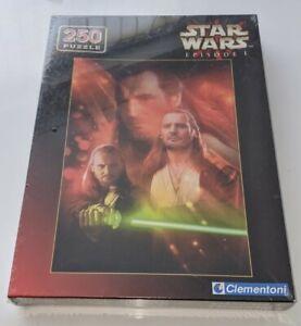 Star Wars Episode 1 Qui Jon Jinn jigsaw 250 piece Clementoni 29375 sealed Neeson