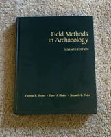Field Methods In Archaeology Seventh Edition Hardcover