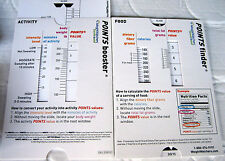 "Weight Watchers TurnAround Points Finder & Points Booster ""NEW""Slide Calculator"
