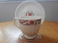 Wedgwood Banbury Edme creamware demitasse cup and saucer TK242 ca. 1949