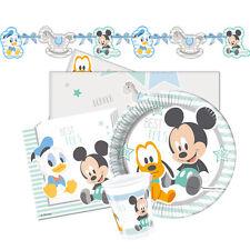 Articoli blu compleanno bambino per feste e occasioni speciali tema Topolino