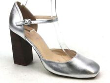 OFFICE 100% Leather Mary Janes Block Heels for Women