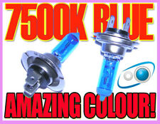 Pair 55W H7 7500K Xenon Headlight Bulbs Headlamp Fits Chevrolet Aveo 11-