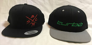 Two Specialized Bicycles Snapback Hats: Turbo Levo & SBC '74 Hat
