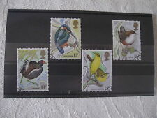 First Day of Issue Birds Decimal Great Britain Stamps