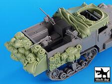 Black Dog 1/35 US M2 Half-track WWII Accessories Set No.1 (for Dragon) T35035