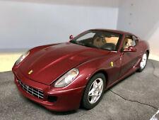 Ferrari 599 GTB Fiorano en Rojo Hotwheels 1:18 Nuevo en Caja P4398