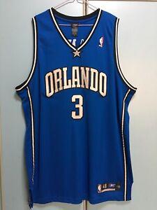 Reebok Nba Basketball Authentic Magic Steve Francis Jersey Sz 48