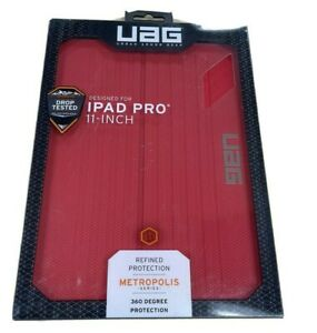 UAG Urban Armor Gear Metropolis Case for iPad Pro 11in RED 360 Degree Protect