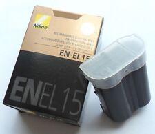 New Original Nikon EN-EL15 Battery for D600 D610 D7000 D800 D800E MB-D12 MB-D11