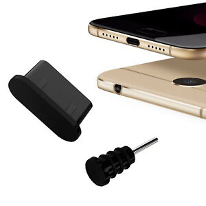 USB 3.1 Typ C Schutz für Cubot X19 S Kopfhörer Kappe Stöpsel Type C