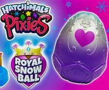 Hatchimals Pixies Royal SnowBall Mystery Egg Magical Snow Ball New Purple