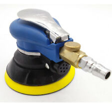 Pro 5″125mm Car Waxing Pneumatic Polisher Air Eccentric Orbital Sander NEW