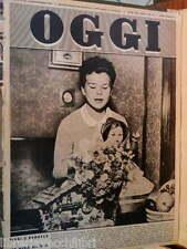 OGGI 9 settembre 1954 Maria Beatrice di Savoia Fanfani Giulia e Fausto Coppi di