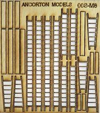 Expo 95742 / ancorton oos-m8 Galga de OO corte con laser madera escaleras &