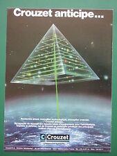 6/1983 PUB CROUZET AEROSPATIAL NAVIGATION VALENCE NADIR OMEGA EQUINOX MAD ASM AD
