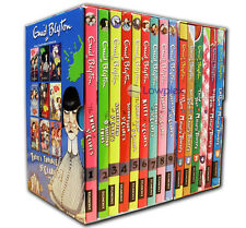 Enid Blyton Collection Malory Towers and St Clares 15 Books Gift Set Pack NEW