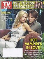 TV Guide Magazine True Blood Anna Paquin Stephen Moyer Cover Reality Shows 2009