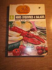 BEETON Homebooks #6 Hors d'Oeuvres & Salads Cookbook Irene Hirst HCDJ 1964 Illu
