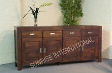 Modern Wooden Cabinet / Sideboard (4 door, 4 drawer)
